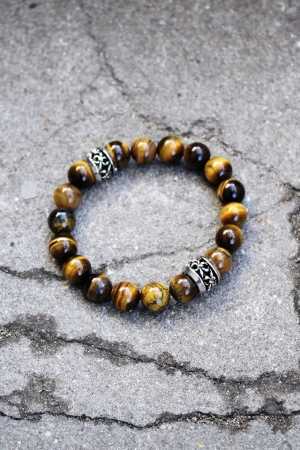 ByTheR Brown Skull Bracelet