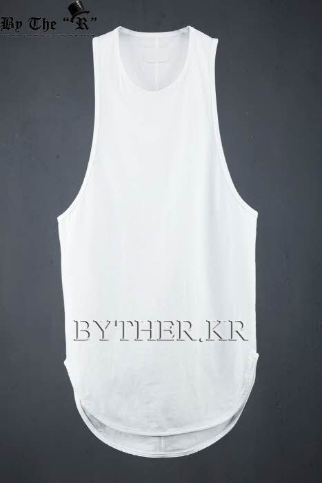 Loose-fit Long Sleeveless Top