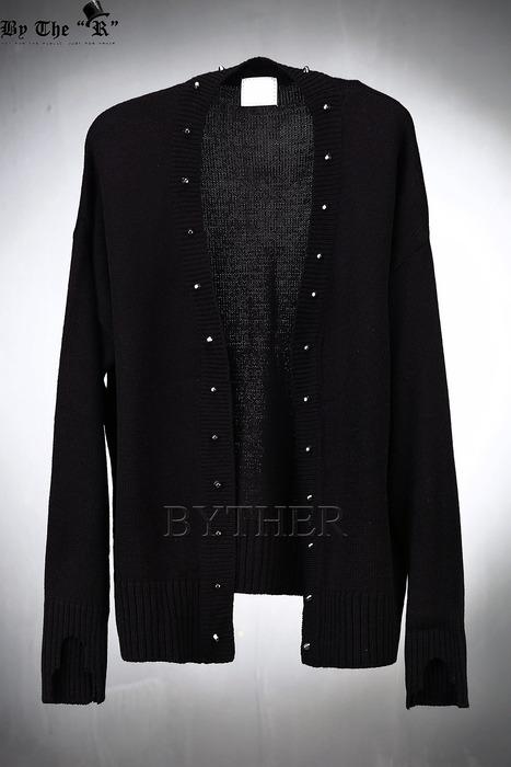 Studs Custom Knit Cardigan