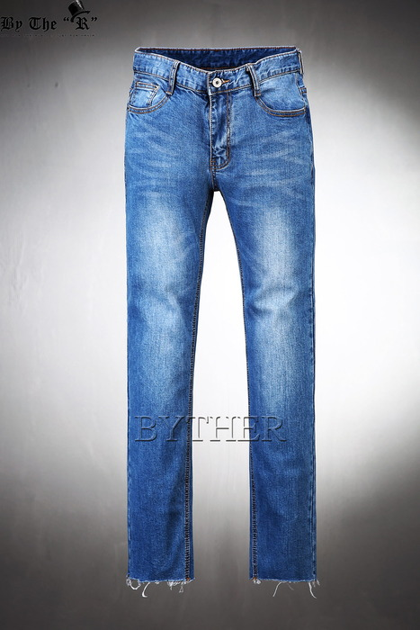 Rough Cutting Skinny Chrome Jean