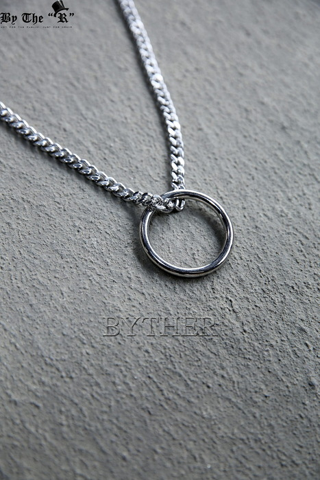 Surgical Steel Ring Pendant Necklace
