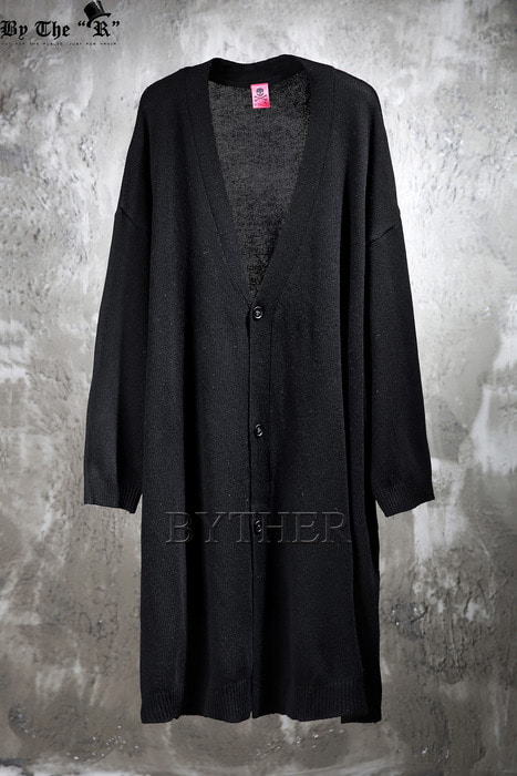 ByTheR Over-fit Knit Long Cardigan