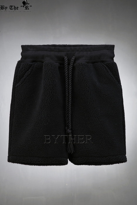 ByTheR Rope Belted Fleece Shorts