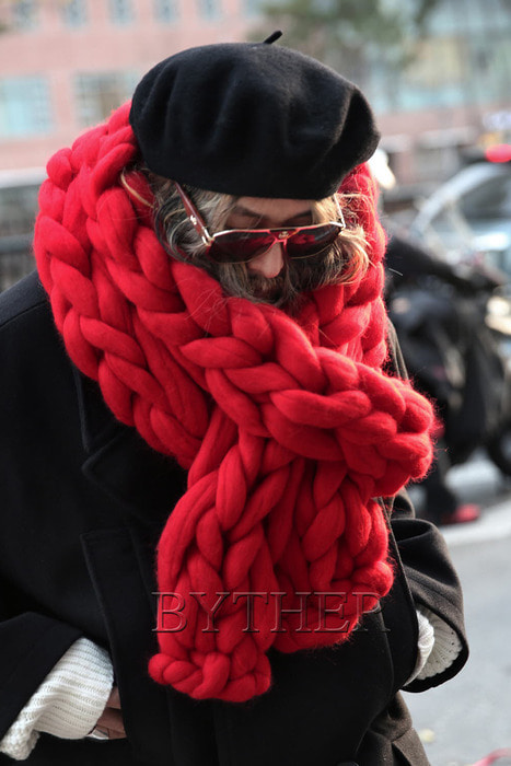 ByTheR Giant Big Yarn Woolen Muffler