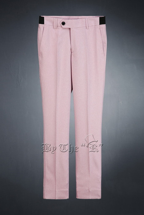 Pink Span Casual Slim Slacks