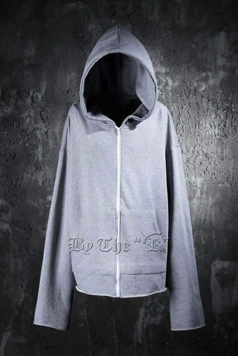 ByTheR Sleeve Cutting Hoodie Zip up