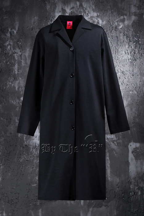 ByTheR Span Black Overcoat