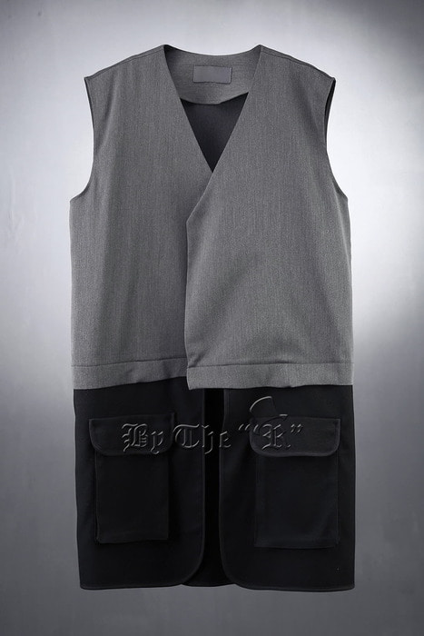 TR Layered Long Vest