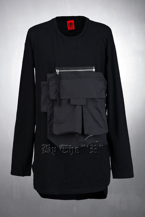 ByTheR Detachable Pocket T-Shirts