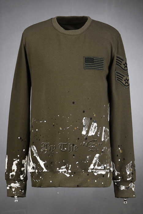 US Soldier Vintage Paint Sweatshirts