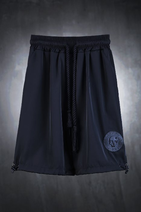 ByTheR Skeleton Logo Patch String Shorts