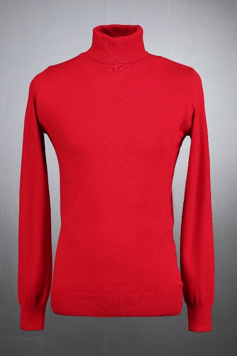 Basic Polo Neck Vivid Sweatshirts