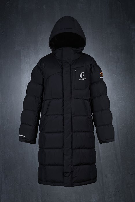 Alpine Skiing Long Duck Down Long Jacket