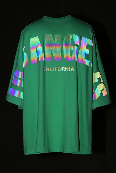 Los Angeles Big Color Scotch Short Sleeve Tee