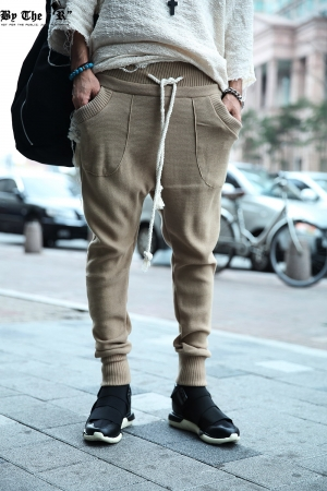 ByTheR Knit Traning Jogger Pants