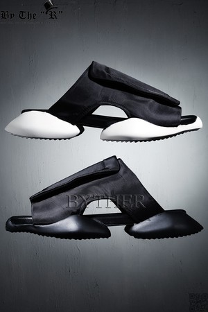 Rhombus Shape Round Rubber Sole Training Slipper Shoes