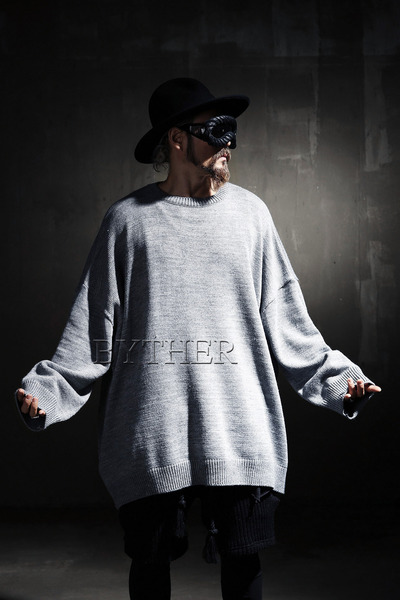 ByTheR Oversized Crewneck Sweater