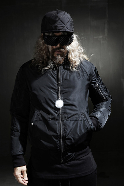Duck-down Pilot Padding Jacket