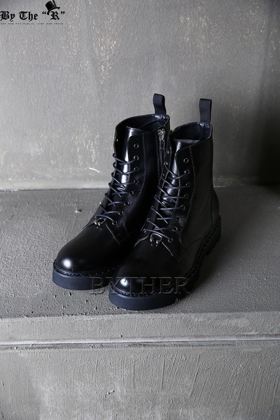 Piercing Leather Walker Boots