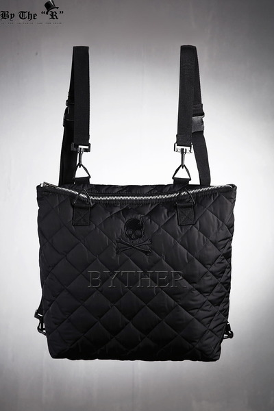 ByTheR songchi Skull Quilted Bag 3way