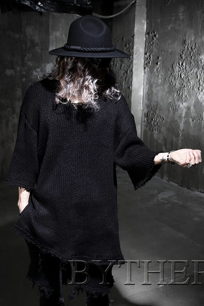 ByTheR Loose Fit Knit T-shirt