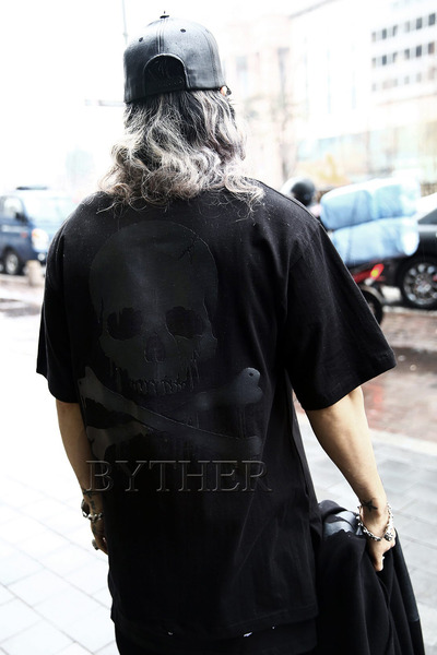 ByTheR Melting Skull Logo T-shirt