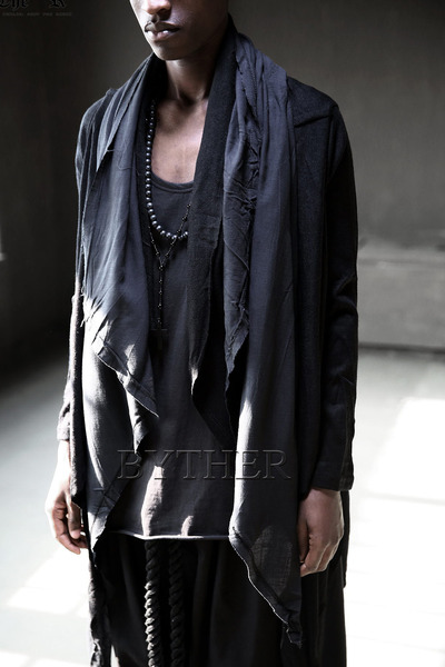 ByTheR Gauze Layered Cardigan