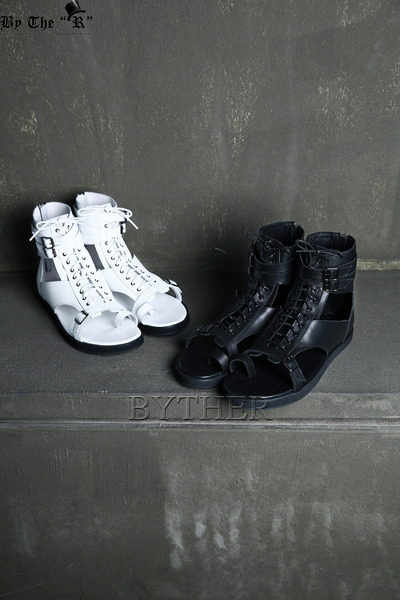 Back Zipper Gladiator Sandal