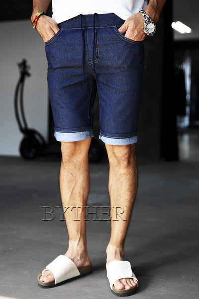 Original Denim Banding Shorts