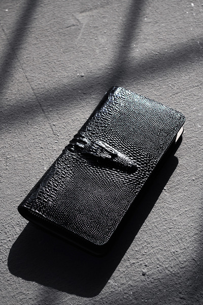 Dragon Leather Long Wallet