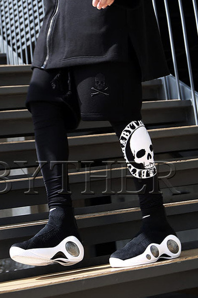 ByTheR Skull Printed Leggings