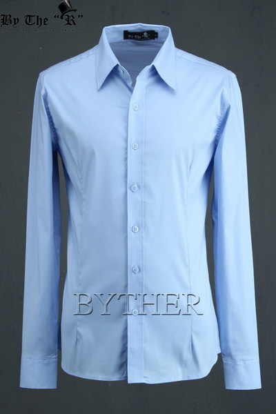 ByTheR Basic Slim Shirts