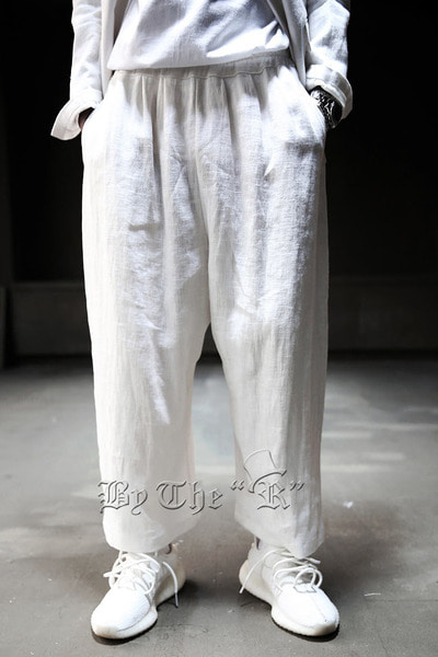 ByTheR Linen Wide Pants