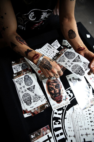 Removable Tattoo Stickers