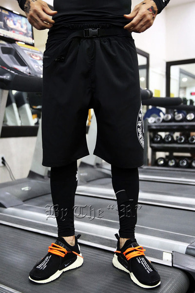 ByTheR Skull Logo Swim Pants
