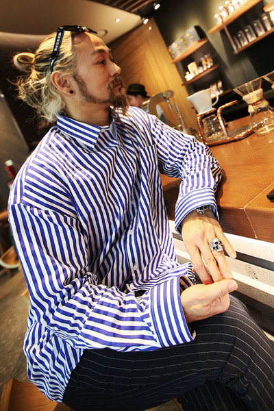 Classic Stripe Loose Fit Shirts