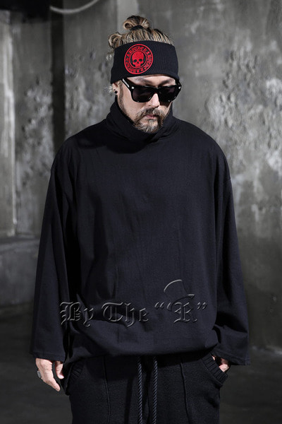 ByTheR Oversized Turtleneck T-shirts