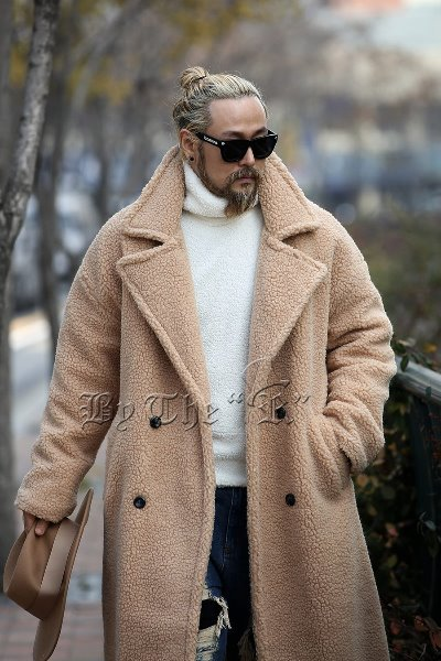 Oversized Woolen Overcoat