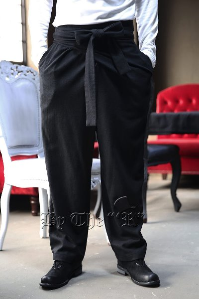 ByTheR Wool wrap gurkha pants
