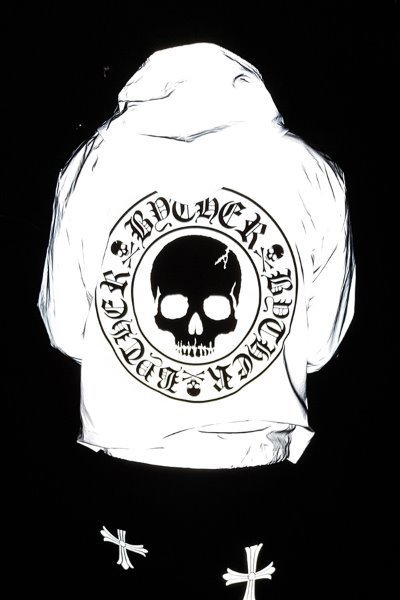 ByTheR Skull Logo Scotchlite Windbreaker