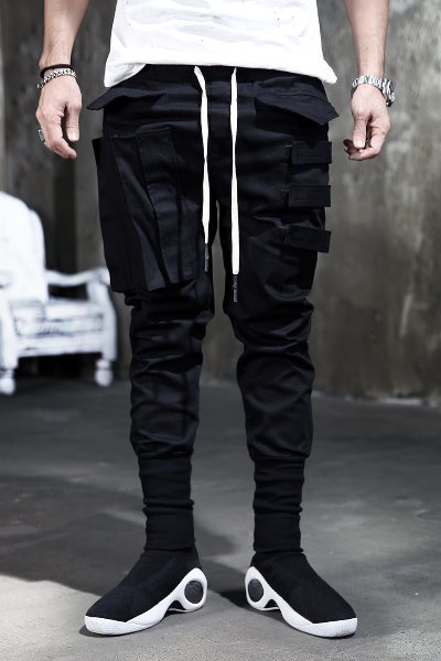 ByTheR Triple Buckle Cargo Pants
