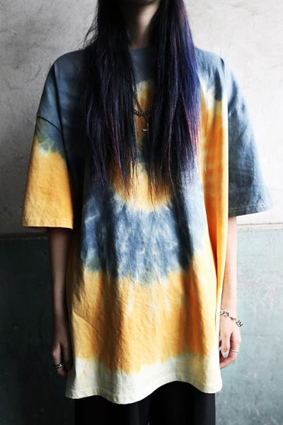 Pastel Tie-dye Loose-fit T-shirt