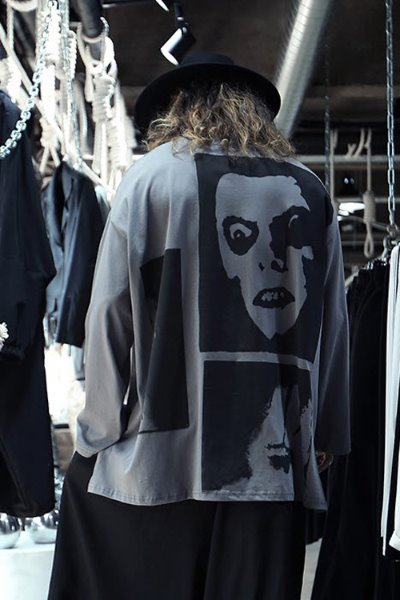 Face Printed Loose Fit T-shirt
