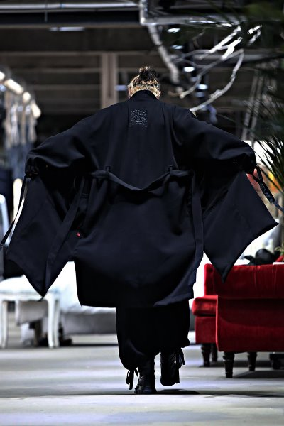 ByTheR Goblin Embroidery Strap Robe Coat