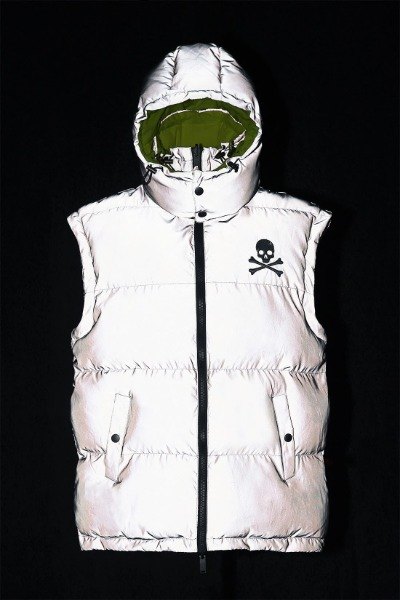 ByTheR  Scotch Glow Reflective Reversible Padded Vest