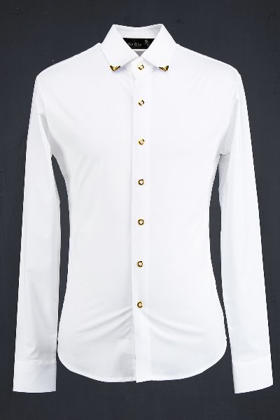 ByTheR Golden Clip Detail Shirts