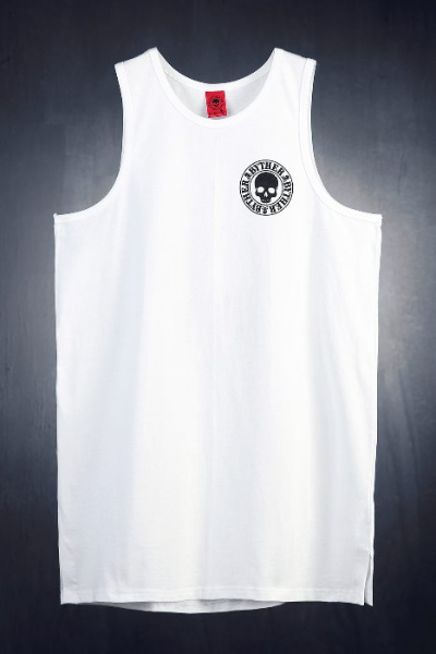 ByTheR Logo Print Loose Fit Tank Top