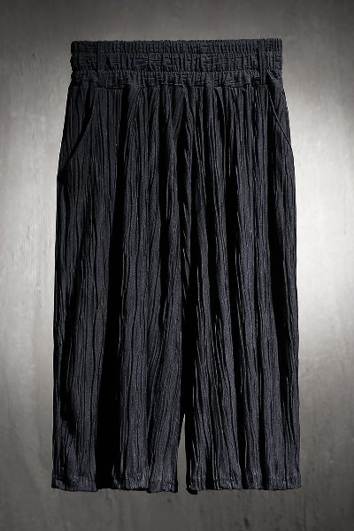 ByTheR Pleated Cropped Skirt Wide Pants