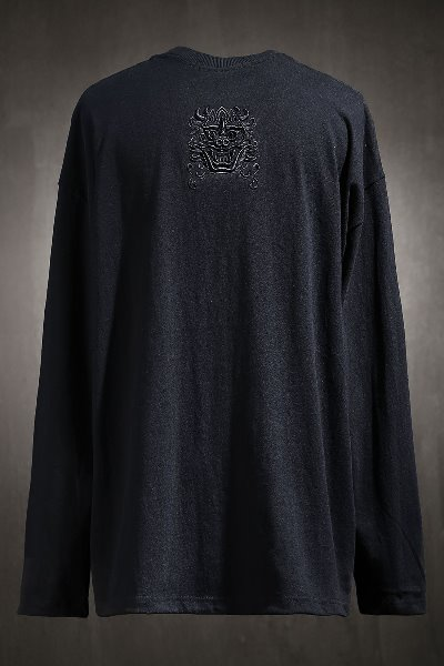 ByTheR Goblin Embroidered Long Sleeve Black