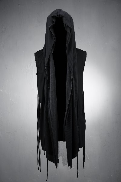 ByTheR Mesh Hooded Cardigan